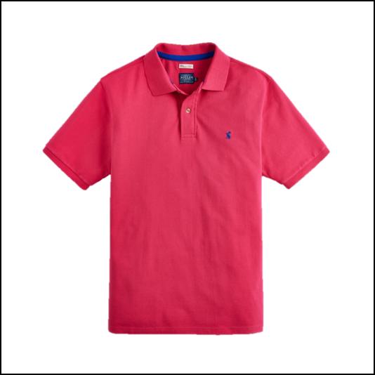 Joules Woody Dark Raspberry Polo Shirt 1