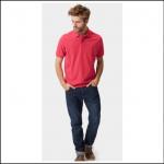 Joules Woody Dark Raspberry Polo Shirt 2