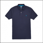 Joules Woody French Navy Polo Shirt