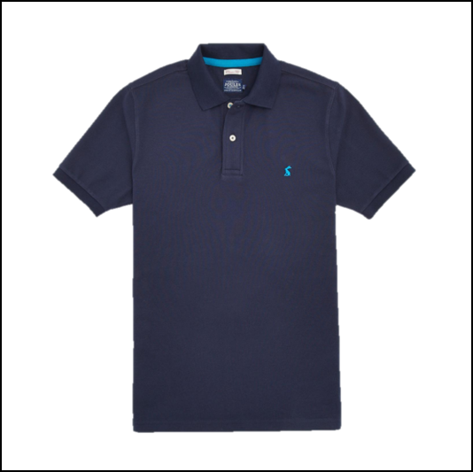 Joules Woody French Navy Polo Shirt 1