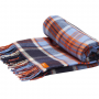 Joules Woven French Navy Check Picnic Blanket 2