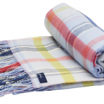 Joules Woven Multi Check Picnic Blanket 2