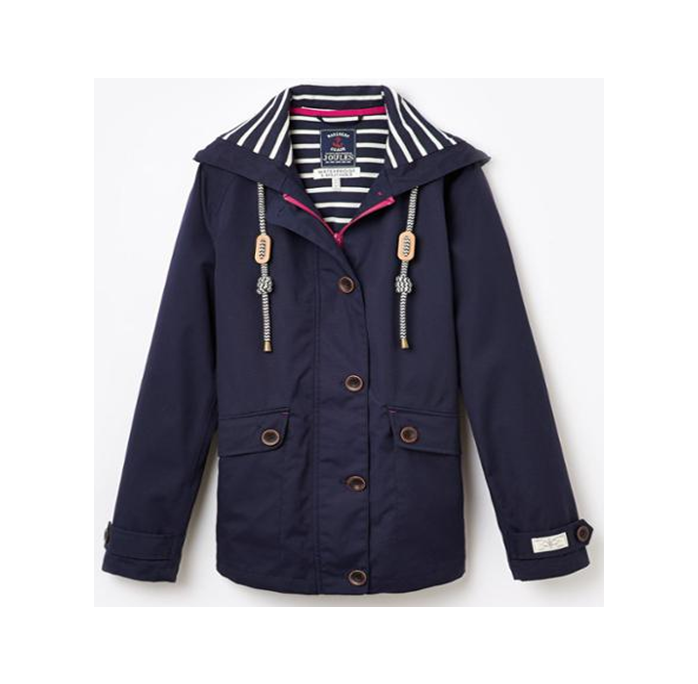 Joules Coast French Navy Waterproof Jacket