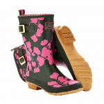 Joules Short Molly Wildflower Wellies