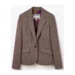Joules Olivia Single Breasted Tweed Jacket