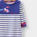 Joules Junior Printed Harbour Jersey Top