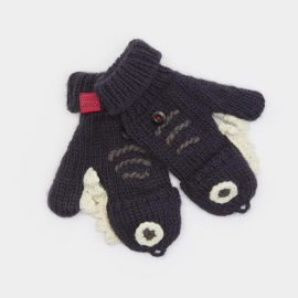 Joules Chum Shark Character Gloves