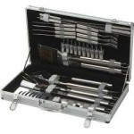 Lifestyle 30 Piece Steel BBQ Tool Set with Case