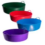 Tubtrug 35L Large Shallow Flexible Bucket