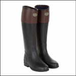 Le Chameau Andalou Noir Marron Boot
