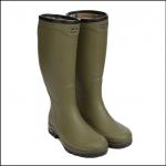 Le Chameau Mens Country Vibram Jersey Boots Vert Vierzon 1