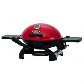 Lifestyle BBQ Tex Portable Gas BBQ with Red Lid 1