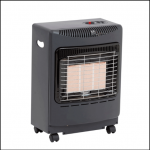 Lifestyle Black Mini Heatforce Gas Cabinet Heater 1
