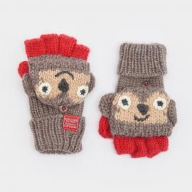Joules Monkey Chum Children's Gloves
