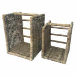 Manor Beaumont Open Rattan Log Basket 1
