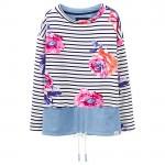 Joules Mariana Sweatshirt Rose Stripe