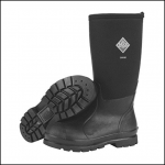 Muck Boot Chore Classic Hi Black Work Wellington Boot