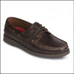 Musto Ellingham Dark Brown Moccasin Shoe 1