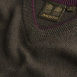Musto Shooting V Neck Knit Rifle Green 2