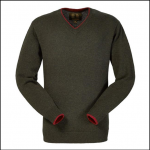 Musto Shooting V Neck Jumper Vineyard 1