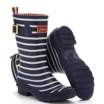 Joules Molly Nazy Stripe Wellies