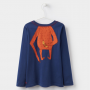 Joules Junior Orangutang Long Sleeve Jersey Top