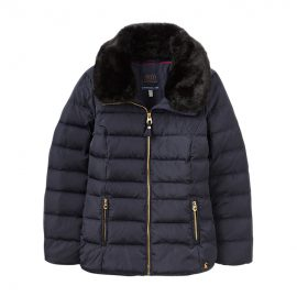 Joules Navy Oakwell Quilted Jacket