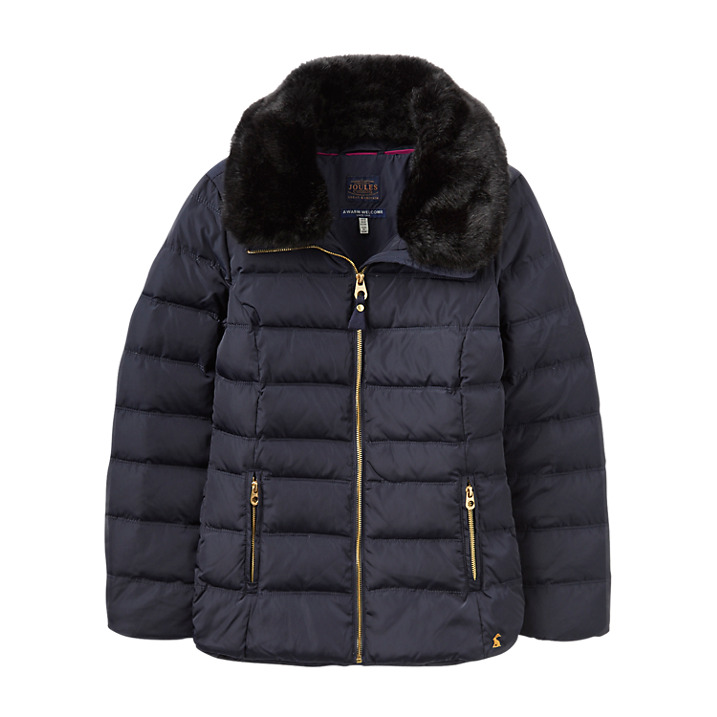 Joules Navy Oakwell Quilted Jacket Ernest Doe Shop