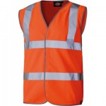 Dickies Orange Hi Vis Safety Vest