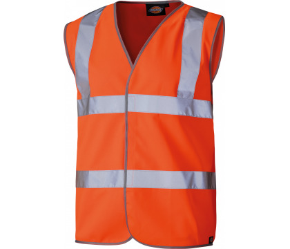 Dickies Orange Hi Vis Safety Vest