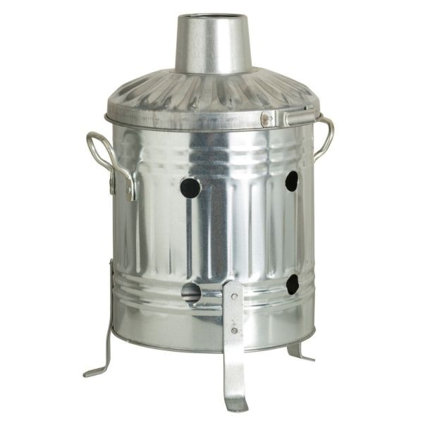 Parasene Mini Galvanised Steel Incinerator