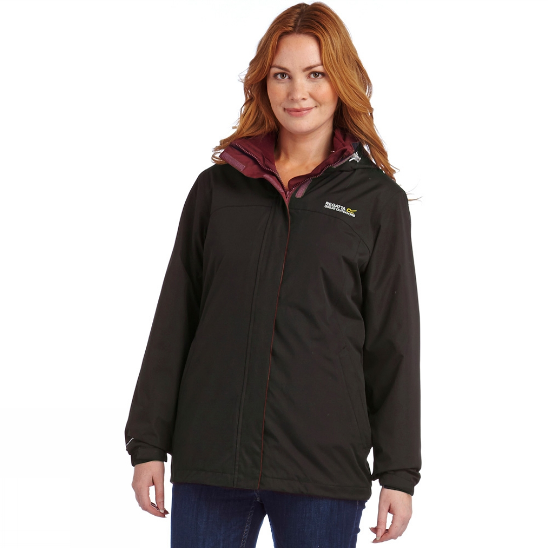 Regatta Preya Jacket 3 In 1 Black