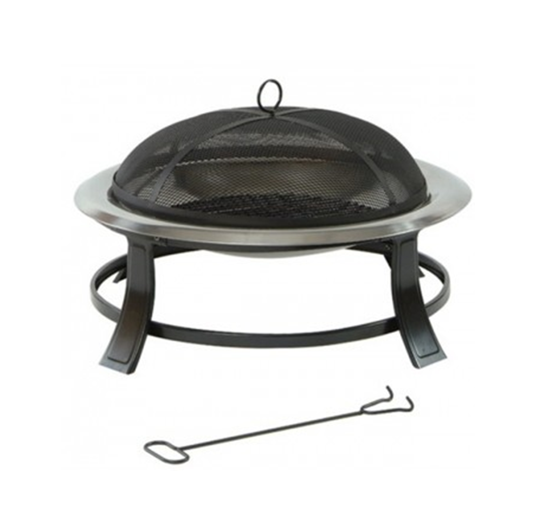 Lifestyle Prima Stainless Steel Fire Bowl