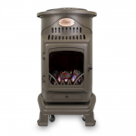 Provence Portable Honey Glow Brown Gas Heater 1