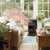 Provence Portable Gas Heater Honey Glow Brown 3