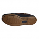 Quayside Ladies Clipper Navy-Chestnut Deck Shoe 2