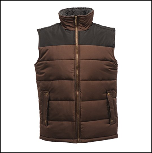 Regatta Altoona Otter-Black Bodywarmer 1