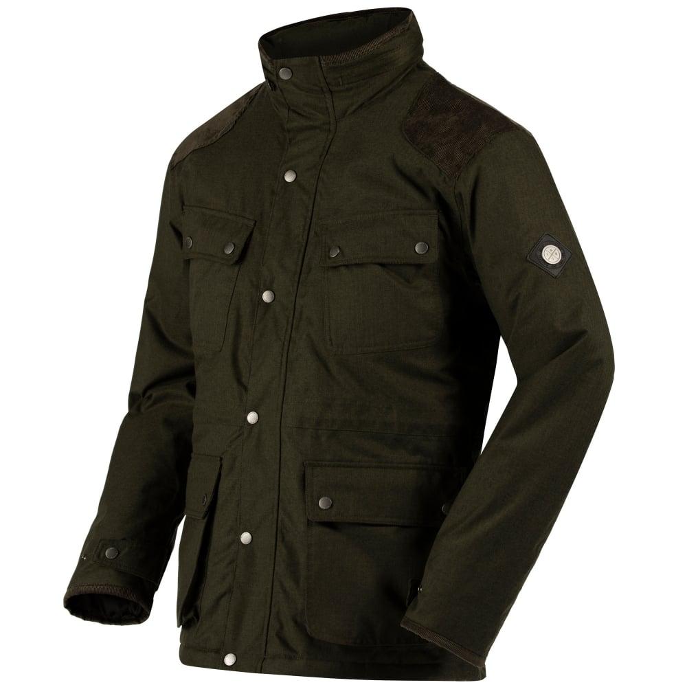Regatta Ellsworth Dark Khaki Jacket 1