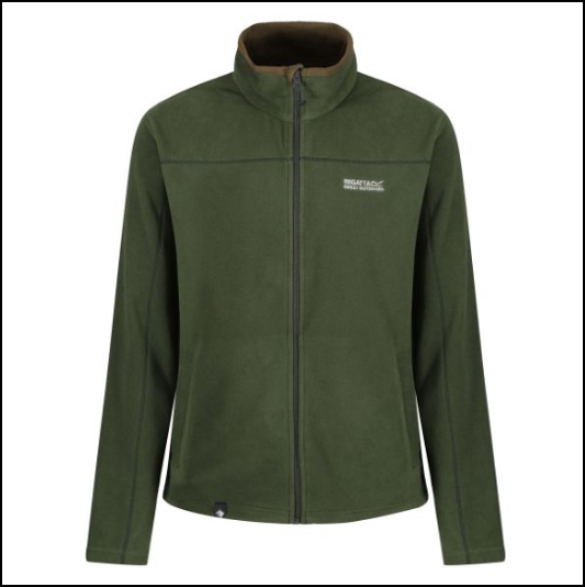 Regatta Fairview Racing Green Fleece Jacket 1