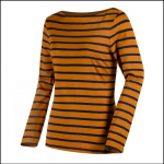 Regatta Fayola Gold-Cumin Stripe Long Sleeve Top
