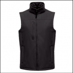 Regatta Flux Softshell Black Bodywarmer 1