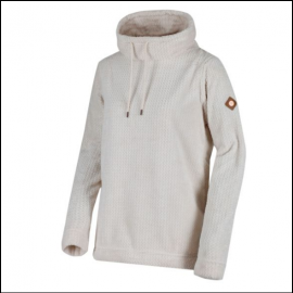 Regatta Hermina Light Vanilla Cowl Neck Fleece 1