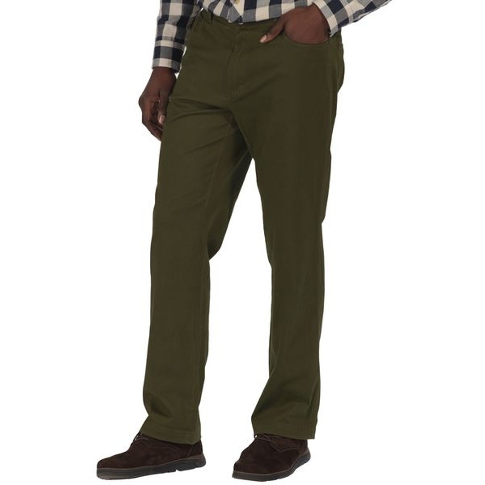 Regatta Lawry Dark Khaki Trousers 1