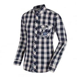 Regatta Loman Navy Long Sleeve Check Shirt 1