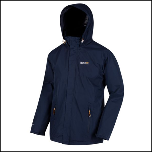 Regatta Matt Waterproof Navy Shell Jacket 1