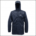 Regatta Pack It Jacket II Navy Waterproof Packaway 1