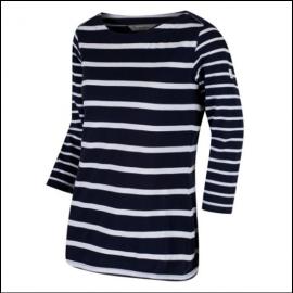 Regatta Parris Navy-White Stripe Top 1