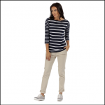 Regatta Parris Navy-White Stripe Top 2