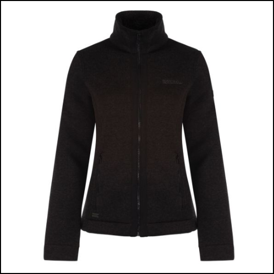 Regatta Ranita Black Fleece Jacket 1