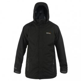 Regatta Telmar Black Waterproof 3-in-1 Jacket 1